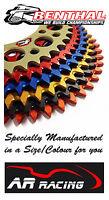 Renthal Special Coloured Rear Sprocket 40-50 Teeth Aprilia 750 Dorsoduro 07-14