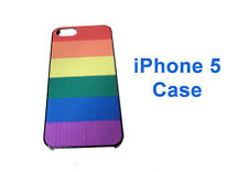 Pride Shack LGBT Gay Rainbow Pride Flag Cell Phone Case Compatible Fits iPhone 5