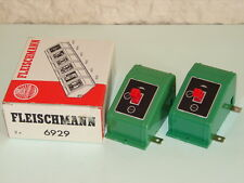 FLEISCHMANN ( 6929 ) 2 BOITIERS DE COMMANDE POUR DECOUPLAGES DES WAGONS HO, N