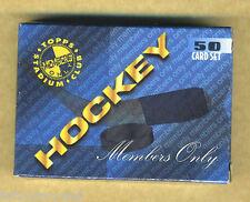 1995 Stadium Club Hockey Members Only 50 card set Gretzky Roy Bure Forsberg