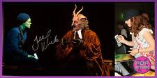 Teal Wicks SIGNED 8x12 Wicked Elphaba Photo COA