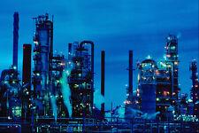 799067 Oil Refinery In Dartmouth Nova Scotia Canada A4 Photo Print