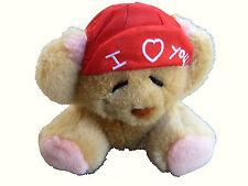 San valentino peluche soft orsetto degIi innammorati I love you con cuore 12cm a