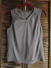 Gray Champion Sleeveless Fitness Gym Exercise Workout Top M