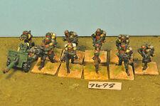 Guardia Imperial Cadian 10 & Arma De Metal Pesado (9498)