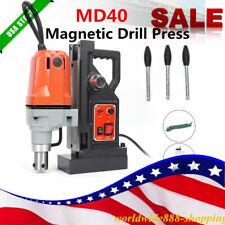 New listing Md40 Magnetic Core Drill Press Machine 550Rpm, 12000N 1100W Magnet Force Machine