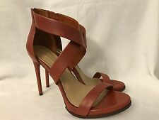 10M Shoes Stilettos High Heels Copper Touch Of Brown Strap heels Platform