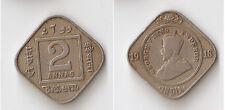 INDIA, British 2 annas 1918