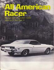 BRAND NEW All American Racer September 1985 T/A-AAR SIAC Mopar Dodge R/T Cuda