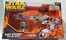 Star Wars 2004 ROTS: Barc Speeder with Barc Trooper - Brand New
