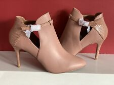 NEXT FOREVER COMFORT High Heels Boots Size Uk 8 Nude NEW🆕
