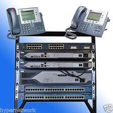 Cisco CCNA CCNP R&S VOICE SECURITY LAB  KIT CME 8.6 IOS 15.1 POE RACK INCLUDED