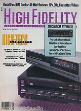 High Fidelity Mag May 1987Mission PCM-4000,AR A-06,Sony CDX-R88, Zapco S-80