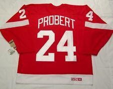 BOB PROBERT - size XXL - Detroit Red Wings CCM 550 VINTAGE series Hockey Jersey