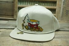 Vintage PIONEER SEED Snapback Trucker Cap Hat K PRODUCTS Made In USA