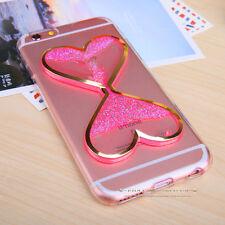 Clear Dynamic Liquid Glitter Quicksand Soft TPU Case Cover For iPhone 5 6 7 Plus