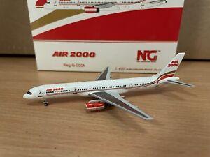 Air 2000 757-200 1:400 (Reg G-OOOA) NG53081 NG Models