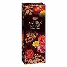 Hem Amber Rose Bulk 6 x 20 Stick (120 Sticks) Free Shipping