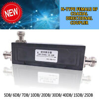 200W 50Ω N-Type RF Coaxial Directional Couplers Transmitter Measurements Tools