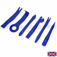 11 pcs Plastic Car Radio Door Clip Panel Trim Dash Audio Removal Pry Tool Kit UK