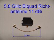 5,8 GHz  FPV Video Videobrille Biquad Richtantenne Diversity SMA gute Reichweite