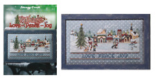 STONEY CREEK Cross Stitch Pattern Leaflet VILLAGE Love Peace Joy #471