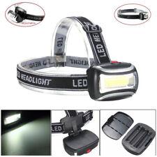 LED COB Headlight Head Light Flashlight Outdoor Camping Lamp Lighting Portable
