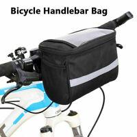 Bike Handlebar Bag Bicycle Front Basket Outdoor Cycle Equipment Waterproofs Hot