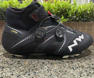 Northwave Extreme Winter GTX Gore-Tex Black Cycling Shoes Men's Size 13 US
