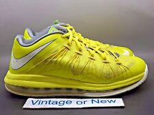 Nike Air Max LeBron X 10 Low Sonic Yellow sz 8.5