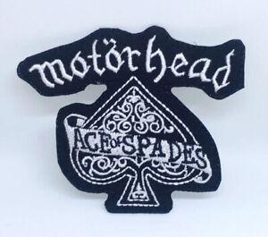 Motorhead As de Pique Bande Métal Musique Repasser / à Coudre Patch Brodé