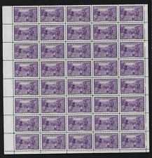 Canada Stamps -Pane of 40 (B) -1949, Bicentenary of Founding of Halifax #283 MNH