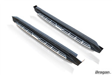 To Fit 2010+ Mitsubishi ASX Polished Aluminium Abs Side Running Boards Steps