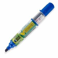 Pilot VBMC V-Board Master Whiteboard Marker Chisel Medium, Refillable - BLUE