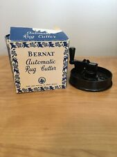 New listing Vintage Bernat Automatic Rug Cutter Original Box Made In Great Britain
