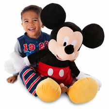 "Disney Authentic Mickey Mouse BIG Jumbo Plush 25"" Toy Doll ~ NWTs ~ Ships Fast"