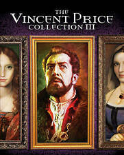 The Vincent Price Collection III (Blu-ray Disc, 2016, 4-Disc Set)