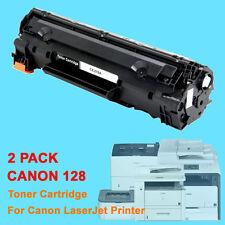 2PK Canon128 128 Toner Cartridge For Canon D530 D550 MF4770n MF4880dw MF4890dw