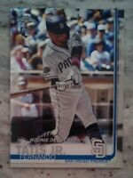 Fernando Tatis Jr 2019 Topps Chrome Update #54 Debut Rookie RC San Diego Padres