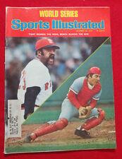 1975 MLB WORLES SERIES CINCINNATI REDS vs BOSTON RED SOX Sports Illustrated