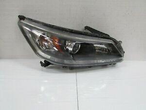 2013 2014 2015 HONDA ACCORD SEDAN RIGHT HALOGEN HEADLIGHT WITHOUT DRL T2