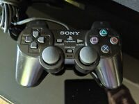 OEM Sony PlayStation 2 Wired Dualshock 2 Analog Controller Black SCPH-10010 PS2