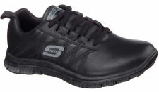 Skechers Leather Lace Up Athletic Shoes for Women