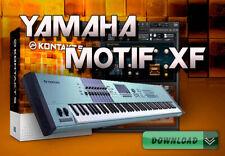 YAMAHA MOTIF XF / XF6 / XF7 / XF8 for KONTAKT