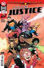 Young Justice 1 Gleason Variant 2nd Printing 2019 Jinny Hex