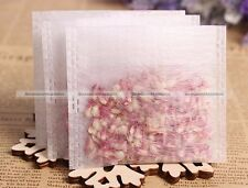 200pcs Non-woven Empty Teabags String Heat Seal Filter Paper Herb Tea Bag S2