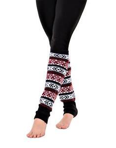 SoCal Look Women's Leg Warmers Over Knee High Knitted Long Socks