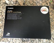 Canon 60th Anniversary IX240 Ltd Edition IXUS Film Camera