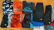 Adidas boys size 8 spring/summer clothing lot