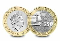 Royal Mint Captain Cook 2018 £2 Two Pound Brilliant Uncirculated in stock